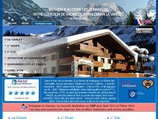 Locations de vacances en Savoie, Chalet du Dôme des Sonnailles