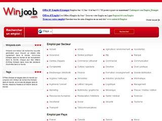 Winjoob, le site d'annonces d'emploi 100% gratuit