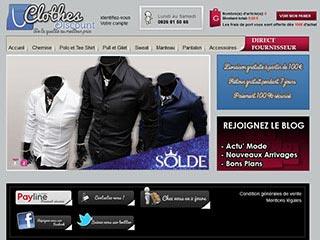 Clothes Discount, vêtement homme pas cher