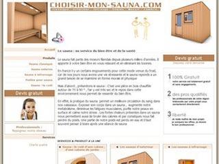 Choisir mon sauna, le spécialiste du sauna et du poêle