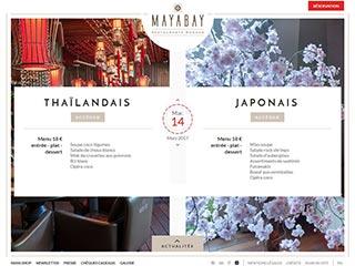 Maya Bay – Restaurant thaïlandais et japonais à Monaco