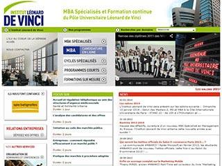 Institut Leonard De Vinci | MBA spécialisés et Formation continue