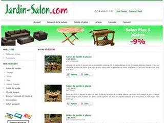 Jardin Salon, produits de jardin en teck