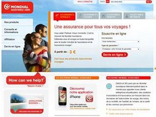 Mondial Assistance, assurance voyage