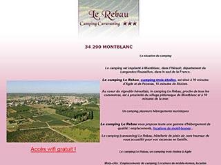 Camping Agde le Rebau, votre destination touristique