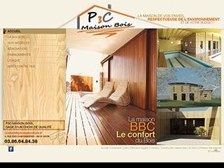 P3C, constructions de maisons en bois Seine et Marne