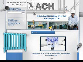ACH entreprise : Chauffage, climatisation et sanitaire
