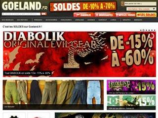 Goeland, T-shirts et fringues rock