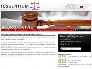 IUS GENTIUM, conseil juridique et droit civil