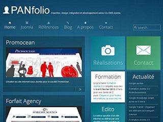 Panfolio : Expert Joomla et création site Joomla