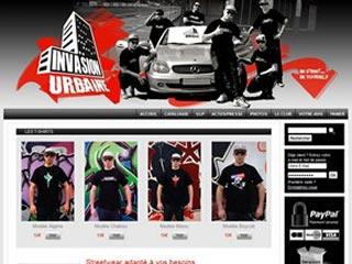Invasion Urbaine, boutique de streetwear hommes rap style