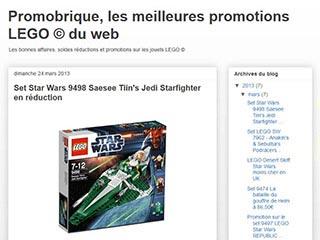 Promobrique.com, les bons plans sur les sets LEGO
