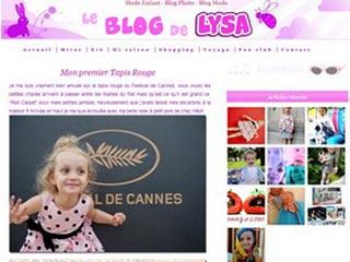 Mode enfant : Decouvrez le blog mode de petite Lysa