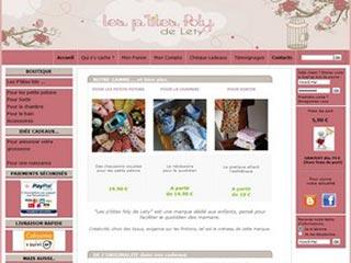Les p'tites foly de Lety, marque dédié aux enfants