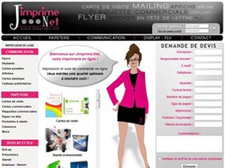 Jimprime : Imprimerie en ligne dédiée à votre communication