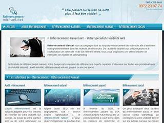 Optimisation environnement numérique - Référencement Manuel