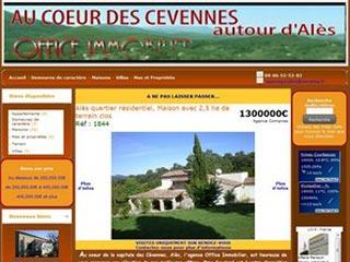 Office Immobilier Alès, Gard et Cévennes