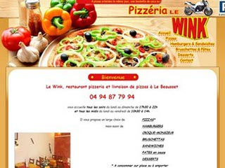 Pizzeria Le Wink : Livraison pizzas à Le Beausset (Var)