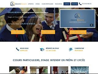 Groupe Réussite: soutien scolaire en lycée et en prépa