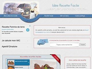 Idée Recette Facile, site de recettes de cuisine pour tous