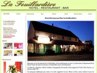Hôtel restaurant la Feuillardiere en Haute Vienne