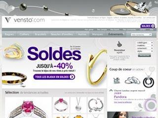 Vensto : Bagues, colliers, bracelets, boucles d'oreilles