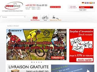MHW Bike-House, le magasin spécialiste des vélos