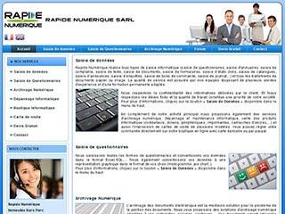 Rapidesaisie : Conseils, services et maintenance informatique