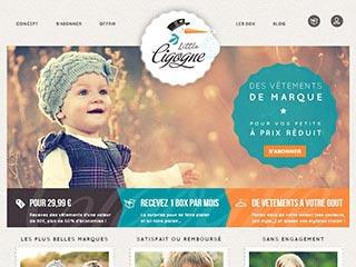Little Cigogne, vente en ligne vêtements de marque enfants