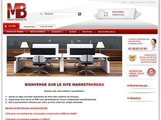 Marketbureau, votre site de mobilier de bureau professionnel