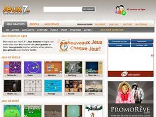 Jeux7, jeux gratuits en ligne