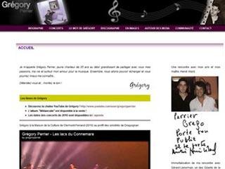 Grégory Perrier - Le site officiel