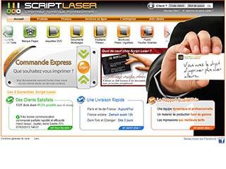 Script Laser : Imprimeur numérique Paris