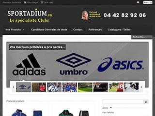 Sportadium : Votre boutique de sport en ligne