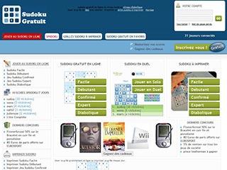 Sudoku gratuit, niveau facile à niveau diabolique