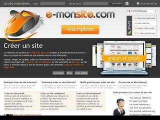 E-monsite.com, création de site web