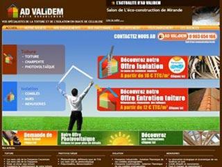AD Validem : Spécialiste de la toiture et de l'isolation