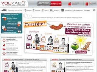 Youkado: le 1er coffret cadeaux de marques