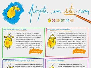 Création site internet et référencement web Nancy avec Adopte un Site
