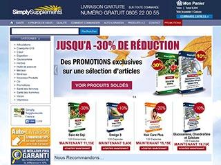 Simply Supplements France le meilleur du complément alimentaire