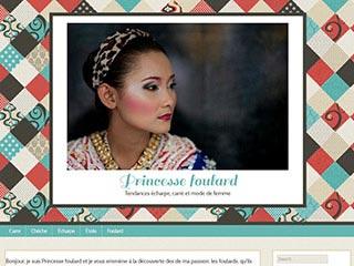 Princesse Foulard : Foulards et carrés en soie, conseils de mode