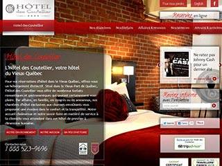 Forfait hôtel à Québec - Hôtel des Coutellier