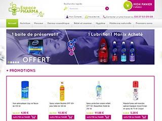 Plus d'informations sur le site espacepharma.com