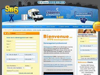 STPS Demenagement : Déménagement sur Paris