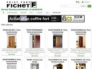 Point Fort FICHET en ligne et à Paris avec notre Serrurerie