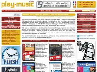Play-Music, apprenez à jouer d'un instrument de musique