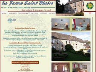 Ferme Saint Blaise, gite rural et chambres d'hôtes