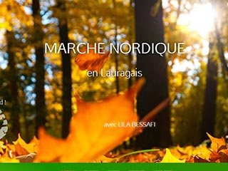 Marche nordique en Lauragais