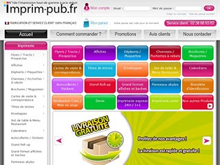 Imprim Pub, imprimerie en ligne marketing entreprise