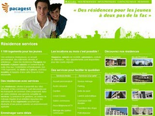Résidences étudiantes Pacagest : studios, appartements
